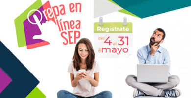 Prepa en linea SEP 2da convocatoria 2020